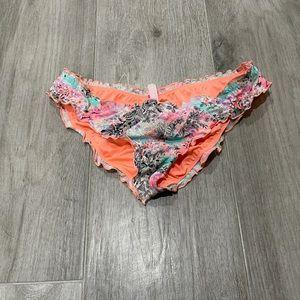 Victoria Secret ruffle cheeky bikini bottom